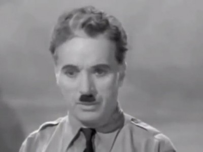"Charlie Chaplin – ""The Great Dictator"""