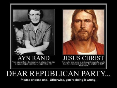 American Fantasy #1 – The  Republican Party Supports Christian Values